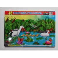 ET04- FUN WITH PUZZLES-PRETTY DUCK&HER FRIENDS