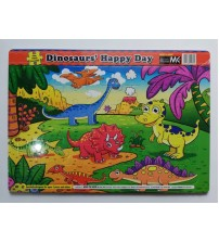 ET05- FUN WITH PUZZLES-DINASOURS' HAPPY DAY
