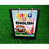 KB02-FLIP CARD ENGLISH 1 PANEL