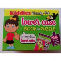 ET08-KIDDIES HANDY SET BOOK & PUZZLE LOWER CASE