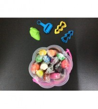 COLOURFUL PLAYDOUGH DENGAN 4 AKSESORI