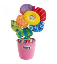 BT57-Lamaze Lights and Sounds Wrap and Go Flower Pot