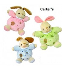 "BT52-Toy Baby-Carter s ""Just One Year"" Rabbit Rattles"