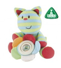 BT54-Toy ELC Blossom Farm Whiskers Cat Spinner Rattle